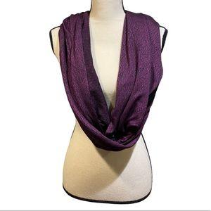 Lululemon Vinyasa Wrap Aurora Purple Black Scarf